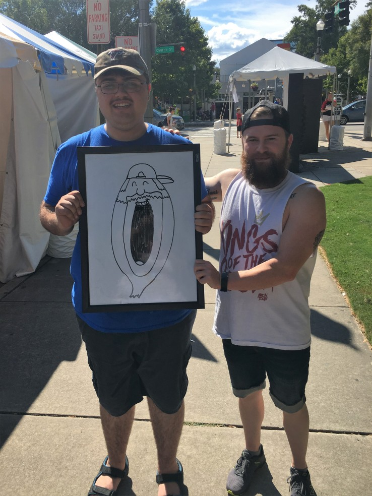 Oliver and his Portrait as the number zero